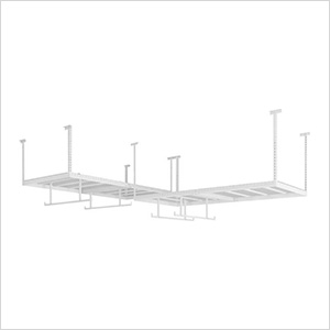 VersaRac 4' x 8' Two Adjustable Ceiling Rack with 4 Hanging Bars