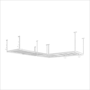VersaRac 4' x 8' Two Adjustable Ceiling Rack with 10 Piece Accessory Kit