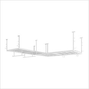 VersaRac 4' x 8' Two Adjustable Ceiling Rack with 18 Piece Accessory Kit