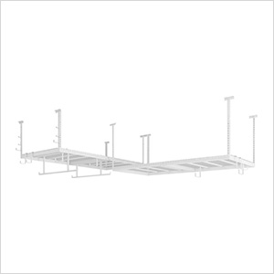 VersaRac 4' x 8' Two Adjustable Ceiling Rack with 16 Piece Accessory Kit