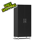 Ulti-MATE Garage Cabinets 2-Door Tall Garage Cabinet in Midnight Black Metallic