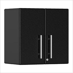 2-Door Wall Garage Cabinet in Midnight Black Metallic