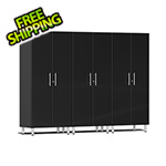 Ulti-MATE Garage Cabinets 3-Piece Tall Garage Cabinet Kit in Midnight Black Metallic
