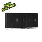 Ulti-MATE Garage 2.0 Series 5-Piece Tall Cabinet Kit in Midnight Black Metallic