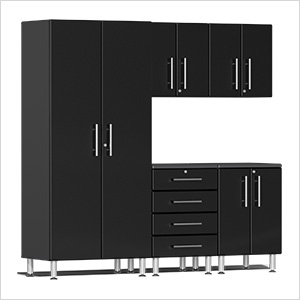 5-Piece Cabinet Kit in Midnight Black Metallic