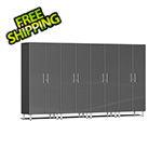 Ulti-MATE Garage Cabinets 4-Piece Tall Garage Cabinet Kit in Graphite Grey Metallic