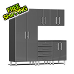 Ulti-MATE Garage 2.0 Series 5-Piece Cabinet Kit in Graphite Grey Metallic