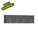 Ulti-MATE Garage Cabinets 4-Piece Garage Wall Cabinet Kit in Graphite Grey Metallic