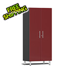 Ulti-MATE Garage 2.0 Series 2-Door Tall Cabinet in Ruby Red Metallic