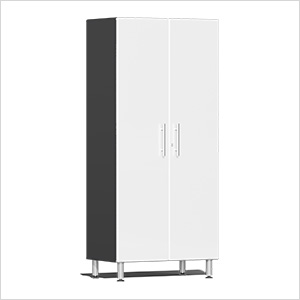 2-Door Tall Garage Cabinet in Starfire White Metallic