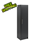 "Prepac Elite 16"" Black Narrow Cabinet"