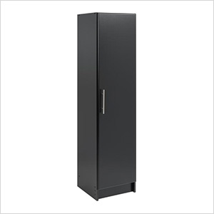 "Elite 16"" Black Narrow Cabinet"