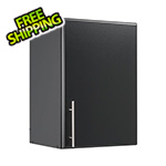 "Prepac Elite 16"" Black Stackable Wall Cabinet"