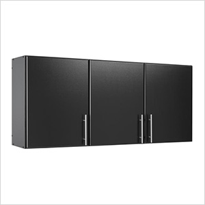 "Elite 54"" Black Wall Cabinet"