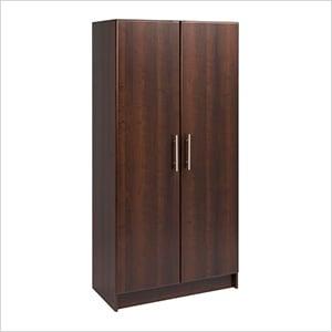 """Elite 32"""" Espresso Storage Cabinet"""