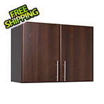 "Prepac Elite 32"" Espresso Stackable Wall Cabinet"