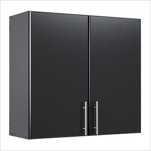 "Elite 32"" Black Tall Wall Cabinet"