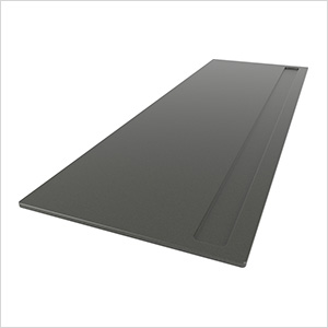 6-Foot Recessed Channeled Worktop