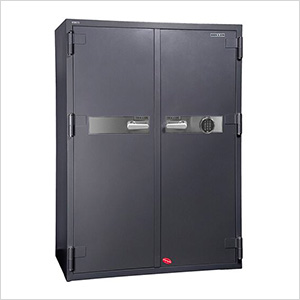 2 Hour Double Door Office Safe with Electronic Lock
