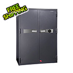Hollon Safe Company 2 Hour Double Door Office Safe with Combination Lock