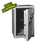Hollon Safe Company Jewelry Safe with Electronic Lock