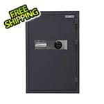 Hollon Safe Company Data/Media Safe with Combination Lock