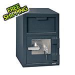 Hollon Safe Company Front Load Depository Safe with Key Lock