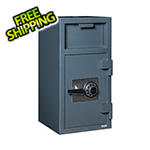 Hollon Safe Company Front Load Depository Safe with Combination Lock