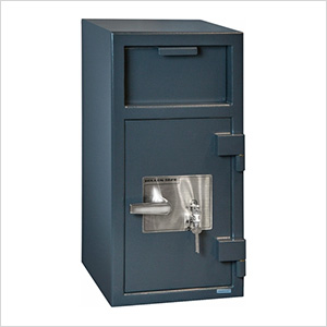 Front Load Depository Safe with Key Lock