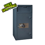 Hollon Safe Company Front Load Depository Safe with Electronic Lock