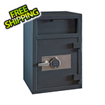 Hollon Safe Company Depository Safe with Inner Locking Compartment and Electronic Lock