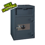 Hollon Safe Company Depository Safe with Inner Locking Compartment and Combination Lock