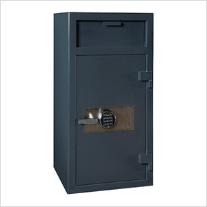 Depository Safe with Inner Locking Compartment and Electronic Lock