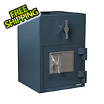 Hollon Safe Company Rotary Hopper Depository Safe with Key Lock