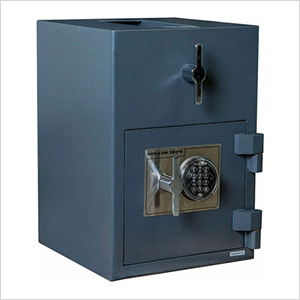 Rotary Hopper Depository Safe with Electronic Lock