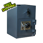 Hollon Safe Company Rotary Hopper Depository Safe with Combination Lock