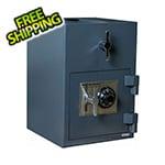 Hollon Safe Company Rotary Hopper Depository Safe with Combination Lock