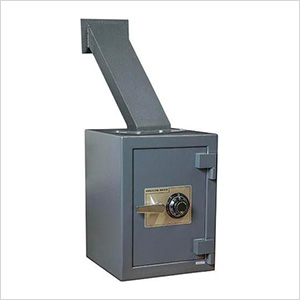 Through-the-Wall Deposit Safe with Combination Lock
