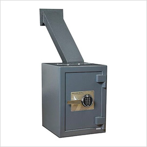 Through-the-Wall Deposit Safe with Electronic Lock