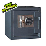 Hollon Safe Company B-Rated Burglar Cash Safe with Electronic Lock