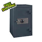 Hollon Safe Company B-Rated Burglar Cash Safe with Combination Lock