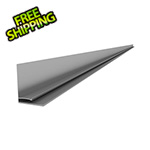 "Proslat 49"" PVC Slatwall L Trim (Light Grey)"