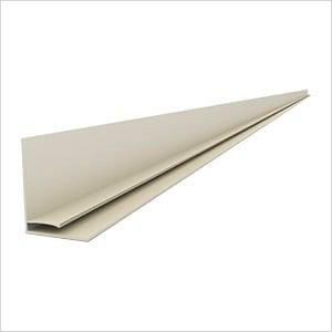 """49"""" PVC Slatwall L Trim (Sandstone)"""