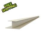 "Proslat 49"" PVC Slatwall H Trim (Sandstone)"
