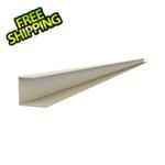 "Proslat 49"" PVC Slatwall J Trim (Sandstone)"