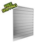 Proslat 4 ft. x 4 ft. Aluminium Slatwall