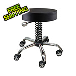 Pitstop Furniture Rolling Garage Stool (Black)