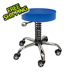 Pitstop Furniture Rolling Garage Stool (Navy)
