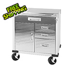 Seville Classics UltraHD Rolling Cabinet with Stainless Steel Top
