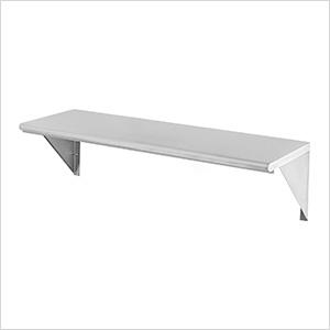 UltraHD 36-Inch Stainless-Steel Wall Shelf